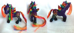 lisa frank pony by seethecee