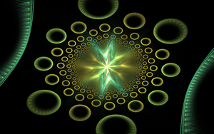 lots of green rings by Andrea1981G