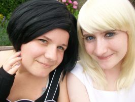 Namine and Xion preview by Fiftyshadesofkay
