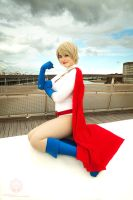 Power Girl @ MCM London Comic Con 2014 by faramon