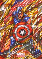 Marvel Universe 2014 Captain America by warpath28