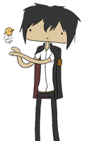Kyoya Hibari Request by PaperSquid