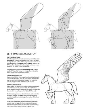 How to draw PEGASUS 3
