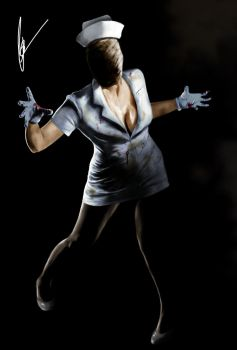 Silent Hill Nurse V2 by HenryTownsend
