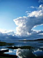 lake n clouds by k1ffy