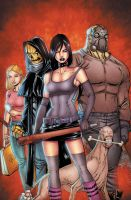 HackSlash Ongoing 1 cover by ColtNoble