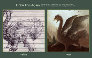 Draw This Again Meme by punic