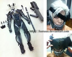 Metal Gear Rising Raiden Progress 020213 by keruuu