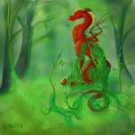 Ancient Dragon by HaSKA-LoWo