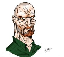 Walter White by Chimy-The-Zombie