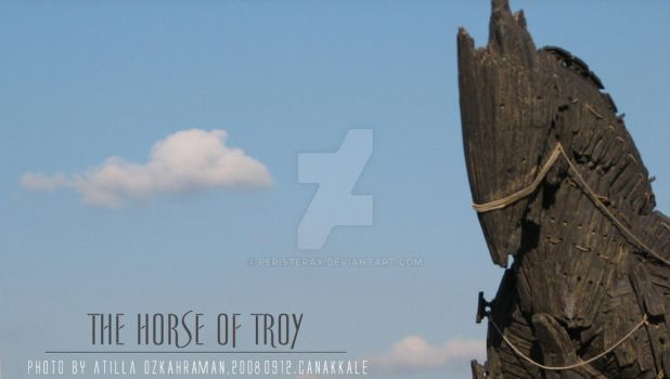 The Horse of Troy by peristerax