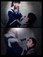 Korra Cosplay - The Wolf Bat Restored by Aicosu