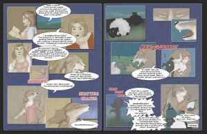 Laurie - 2 Page Comic by Ulario