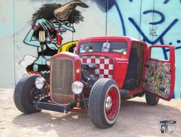 Ford Hot Rod by Dany-Art