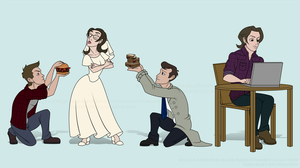 Supernatural Commission for CBGraham by Little-Katydid