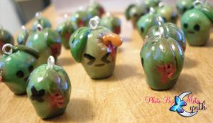 Zombie Apple Horde by MetaCynth