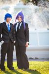 Kaito and Gakupo - Groom and his Best Man by iButler9586