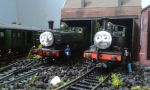 Duck and Oliver by Terrier55Stepney