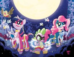 My Little Pony #3 Larry's/Jetpack Variants by TonyFleecs