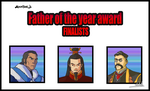 Father of the year award by Shtut