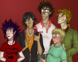 I'm With Stupid_The Marauders by Alatariel-Amandil