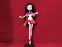 Custom MH Doll Super Sailor Mars by djvanisher