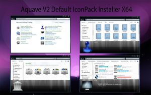 AquaveV2 iconPack Def Inst X64 by Mr-Ragnarok
