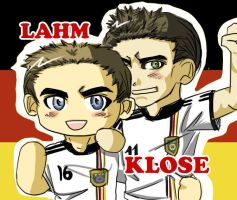 FIFA 2010 Lahm and Klose by skylord1015
