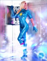 Dazzler by optical-intrusion