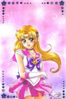 Gift: Stef as Sailor Senshi by Toto-the-cat