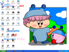 My Murumo Wallpaper Desktop by murumokirby360