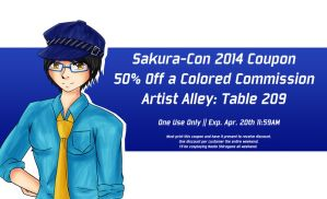 Sakura-Con 2014 Coupon by agent-ayu