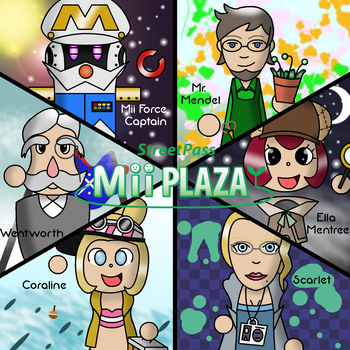 Streetpass Supporters by Trifong