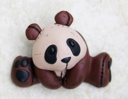 Faux Leather Panda by FauxHead