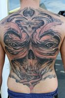 monster freestyle backpiece by graynd