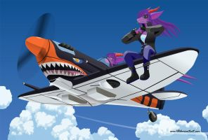 Dragons On A Spitfire by EVOV1
