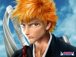 Real BLEACH: Ichigo by F1yMordecai
