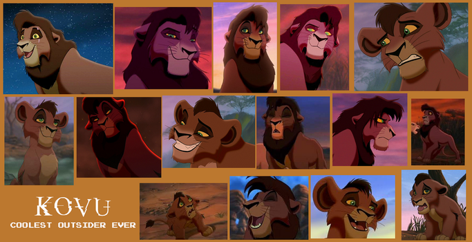 Kovu From Lion King 2 Collage by Scamp4553