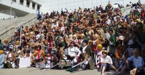 Attack On Titan Gathering At Anime Expo 2014 by R-Legend