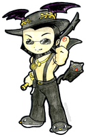 Gaia Online Aviart Thumbs Up by spoonyliger