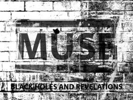 MUSE - Logo - Grunge Wallpaper by Stillbored