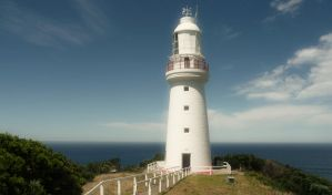 Lighthouse at Cape Otway by chumly12