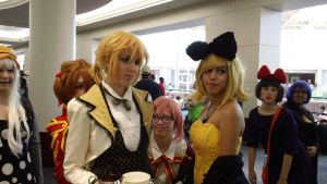 Kagamine Rin and Len by DRRRLover1224