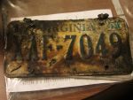 The license plate of my last car by TheHappySpaceman01