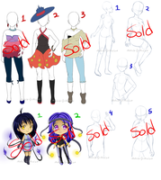 Auction clothing, Prepose cmmssn open by Melody-Musique