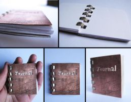 Copper Journal by PinkPixieDragon