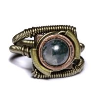 Steampunk Moss Ring 24 by CatherinetteRings