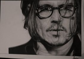 Johnny Depp (Hyperrealism 60/h) by TolleaM