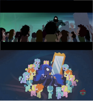 Samurai Jack and My Little Pony Comparison. by brandonale