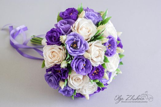 Wedding bouquet by polyflowers